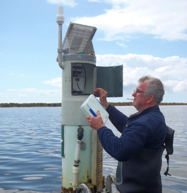Foto Surface Water Level Monitoring